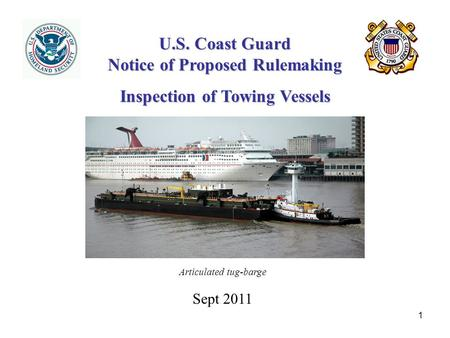 U.S. Coast Guard Notice of Proposed Rulemaking