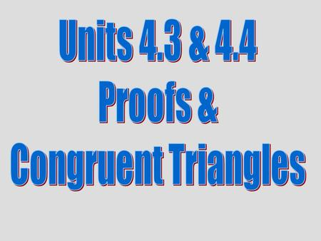 EXAMPLE 1 Identify congruent triangles Can the triangles be proven congruent with the information given in the diagram? If so, state the postulate or.