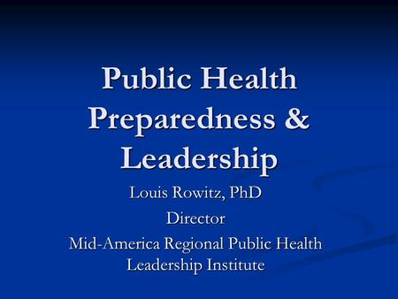 Online phd public health canada