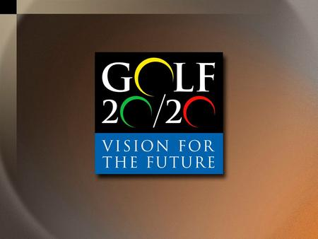 RUFFIN BECKWITH Senior Vice President World Golf Foundation.