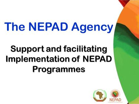 Support and facilitating Implementation of NEPAD Programmes The NEPAD Agency Support and facilitating Implementation of NEPAD Programmes.