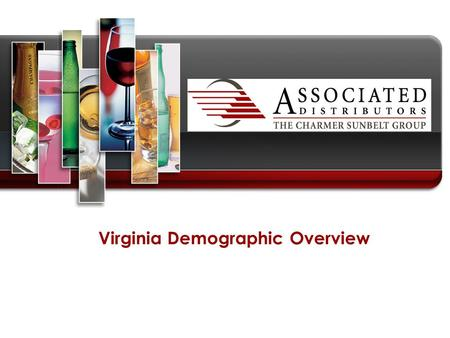 Virginia Demographic Overview. Core topics  Key Demographic Information  General population overview and growth trends  Population by major municipalities.
