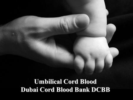 Umbilical Cord Blood Dubai Cord Blood Bank DCBB. CHAPTER I Background of Cord Blood.