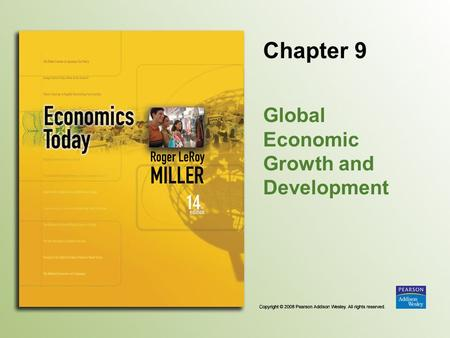 Global Economic Growth and Development