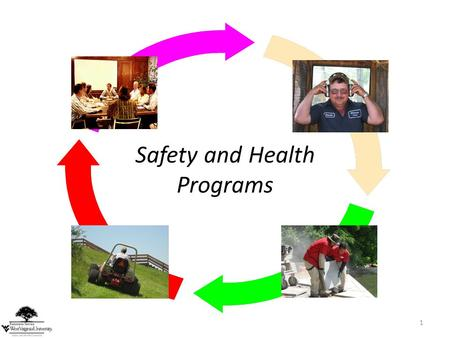 1 Safety and Health Programs. 2 Landscaping Safety Programs Although compliance with the law, including specific OSHA standards, is an important objective,