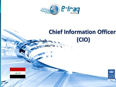 1 Chief Information Officers (CIO). Module 3 Human Resources Management and Change Management 2.