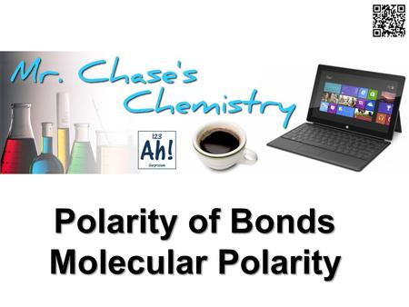 Polarity of Bonds Molecular Polarity. Equal Pull on Electrons If there is no difference in the electronegativity of the atoms forming a covalent bond,