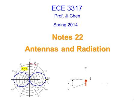 Antennas and Radiation