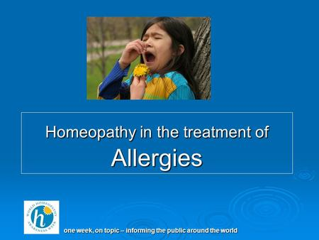 thesis in homoeopathy