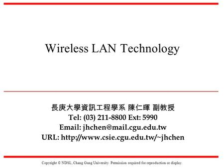 Ad hoc wireless networks lecture notes