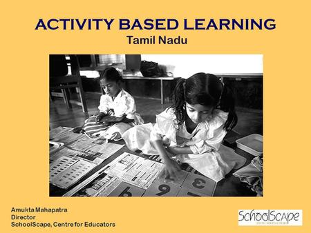 ACTIVITY BASED LEARNING Tamil Nadu
