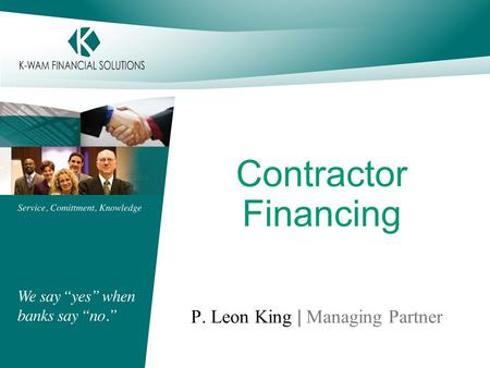 P. Leon King | Managing Partner