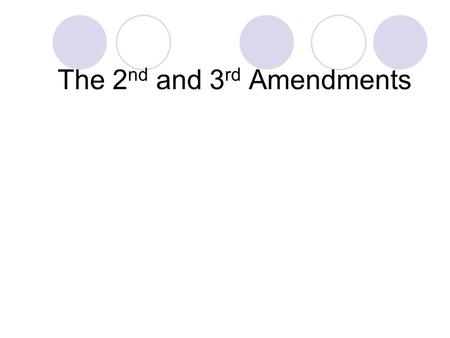 The 2 nd and 3 rd Amendments. Which of these should private citizens not be allowed to own, if any? Handguns Automatic Shotguns Grenades F-16 Fighter.