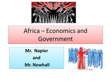 Africa – Economics and Government