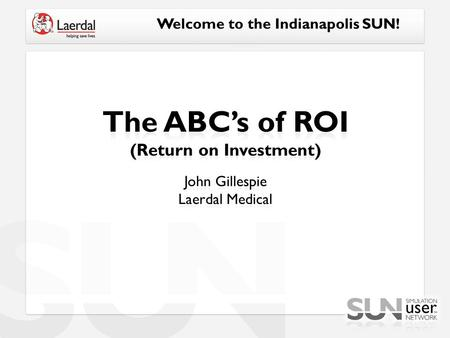 Welcome to the Indianapolis SUN!. Traditional ROI is: Investopedia. (n.d.). Return on investment - ROI. Retrieved from