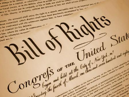 Bill of Rights. The Constitution describes how the government should run but citizens wanted to be able to also limit the government's power and protects.