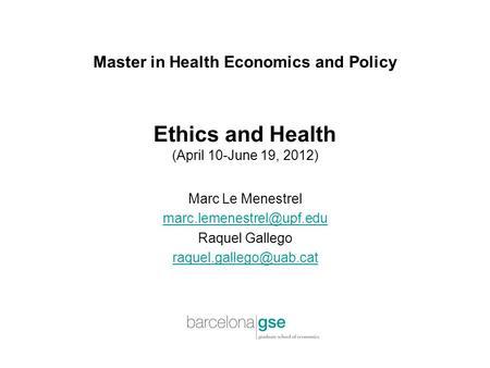 health economics and policy pdf