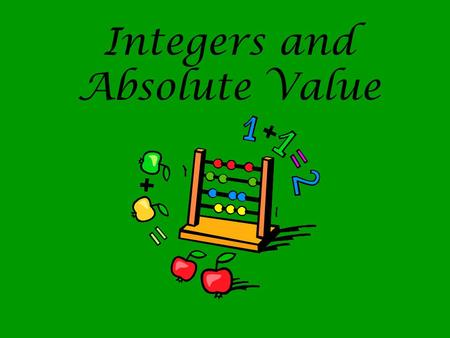 Quiz &amp- Worksheet - Absolute Value &amp- Opposite Integers | Study.com