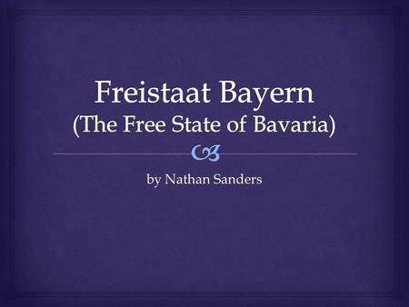 By Nathan Sanders.  Free State of Bavaria State and Civil Flag.