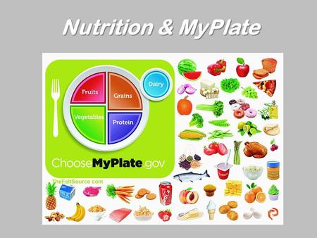 Nutrition & MyPlate. Introduction Task Process Resources Evaluation Conclusion Table of Contents Table of Contents.