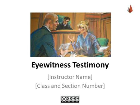 an introduction to the importance of the eyewitness testimony We discuss how eyewitnesses are interviewed, how lineups are conducted, and why procedures can have a strong impact on the resulting probative value of eyewitness testimony these variables are called system variables, because they are under the control of the justice system (wells, 1978) the importance of system.