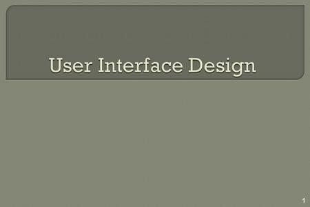 1.  Areas of concern 1. The design of interfaces between software components 2. The design of interfaces between the software and other nonhuman producers.