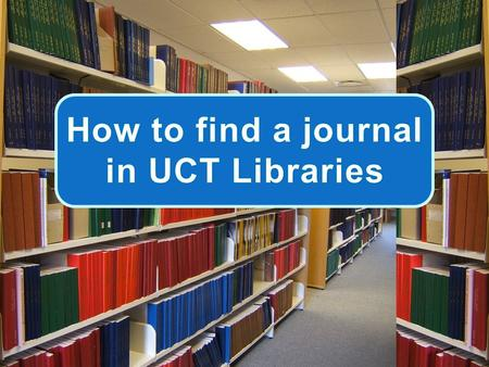 Hunting for a journal? And not sure where to start?