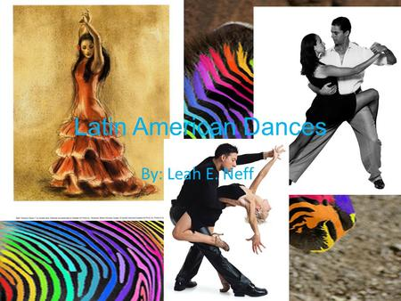 Latin American Dances By: Leah E. Neff. SKANKING!! A form of dancing done to ska, ska punk, reggae etc. music. A form of dancing done to ska, ska punk,