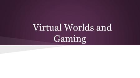 online gaming definition