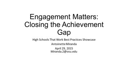 the achievement gap causes and possible The achievement gap: causes and possible solutions abstract this research paper will take a look at the achievement gap that exists in education the achievement gap is best described as.