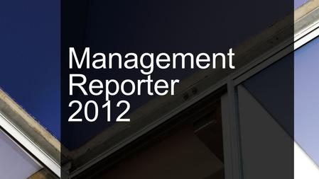 Management Reporter is the replacement of FRx FRx Transition Management Reporter 2012.