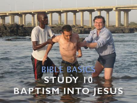" Heb. 6:2 speaks of baptism as one of the most basic doctrines  ""Salvation is of the Jews"" (Jn. 4:22) in the sense that the promises concerning salvation."