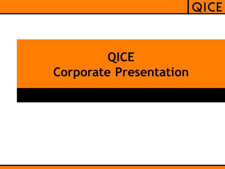 QICE Corporate Presentation. Table of Content  Introduction  Service Offerings  Technology Offerings  Delivery Models  Engagement Models  References.