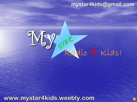 Radio 4 Kids! STAR.