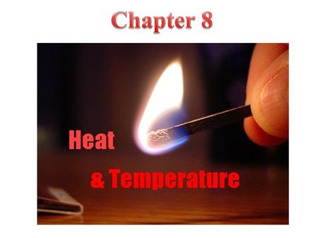  Matter contains thermal energy, not heat.  Heat is the thermal energy in transit.  Heat is the thermal energy transferred from one object to another.