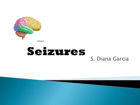 S. Diana Garcia Seizures.  A seizure is a manifestation of abnormal hypersynchronous discharges of cortical neurons.  It can manifest as an alteration.