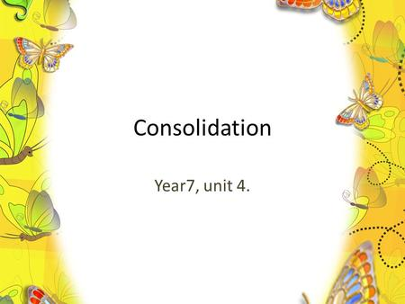 Consolidation Year7, unit 4.. Checking your homework. A.B., pp. 33-34, ex.5, part 1) A. an encyclopaedia; B. an Internet advertisement; C. a story (Lost.