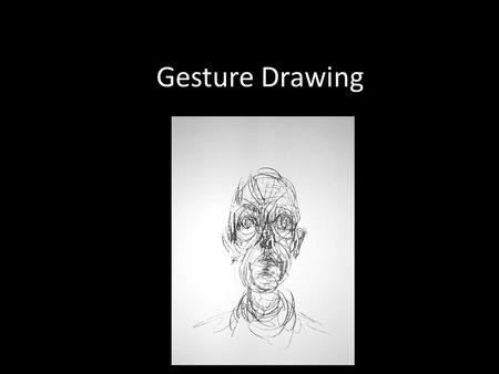 Gesture Drawing. So, in words, what is gesture drawing? Simply defined a gesture drawing captures the movement the artist feels within the subject. It.