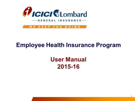 Employee Health Insurance Program User Manual