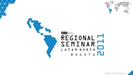 © Copyright 2011 OSIsoft, LLC 1. Presented by 2 PI System Product Roadmap Ana Vivas Field Service Engineer OSIsoft México PI System Product Roadmap.