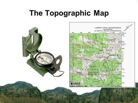 The Topographic Map.