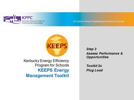 KEEPS Energy Management Toolkit Kentucky Energy Efficiency