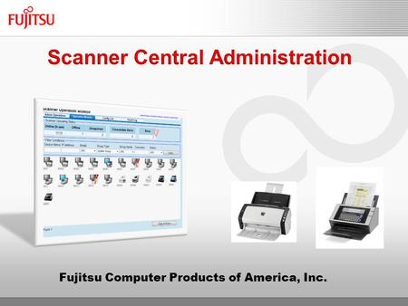 Fujitsu Computer Products of America, Inc.. Overview Introduction Efficiency and Cost Savings Asset Control Usage Information Reduced Downtime Installation.