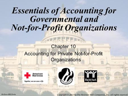 Accounting for Private Not-for-Profit Organizations