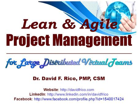 Lean & <strong>Agile</strong> Project Management