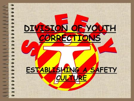 DIVISION OF YOUTH CORRECTIONS ESTABLISHING A SAFETY CULTURE.