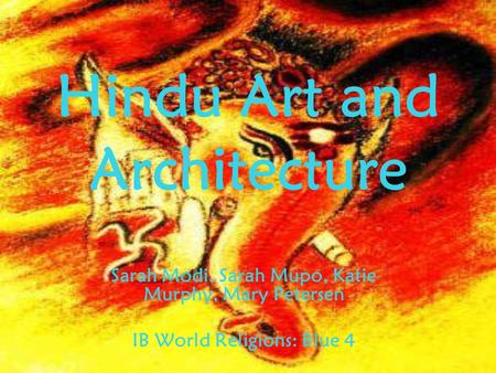 <strong>Hindu</strong> Art and Architecture