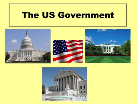 The US Government. Aim: Identify the main branches of the federal government and the part that they play in the US government. Success Criteria: Identify.