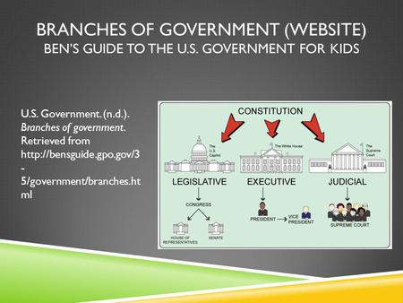 Ben's Guide to US Government for Kids   Smithsonian's ...