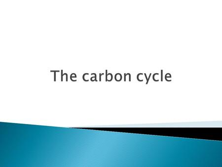  How does carbon move in and out of the atmosphere?  Why has the amount of carbon dioxide increased recently  What is a carbon neutral fuel.